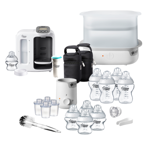 Complete Bottle Feeding Bundle, white