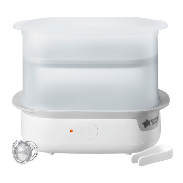 Super-steam Advanced Electric Steriliser, white