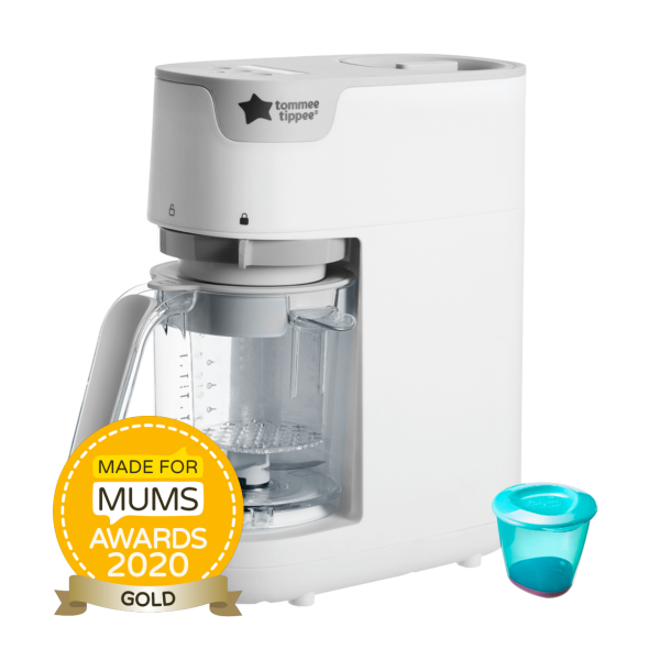 Quick Cook Baby Food Maker, white