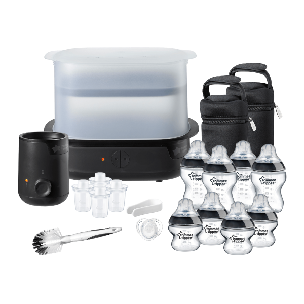 Complete Feeding Set, black