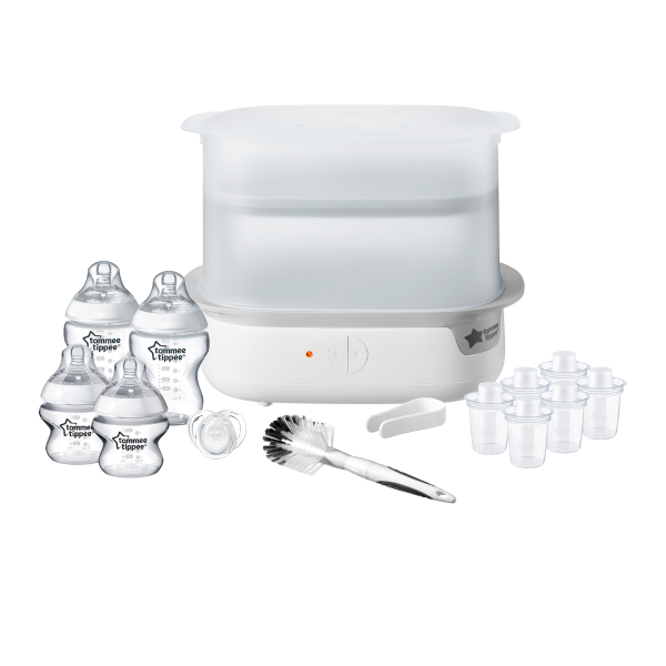 Super-Steam Electric Steriliser Set