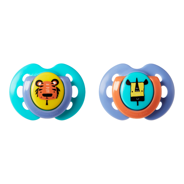 Fun Style Soother (0-6 months) - 2 pack