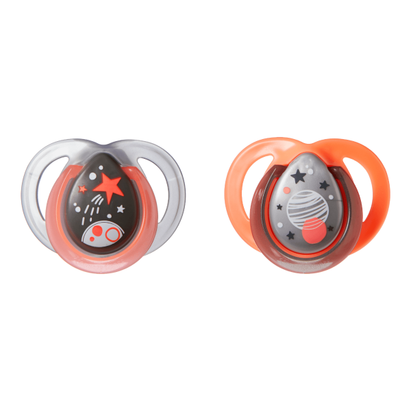 Night Time Soother (0-6 months) - 2 pack