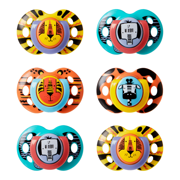 Fun Style Soother (18-36 months) - 6 pack