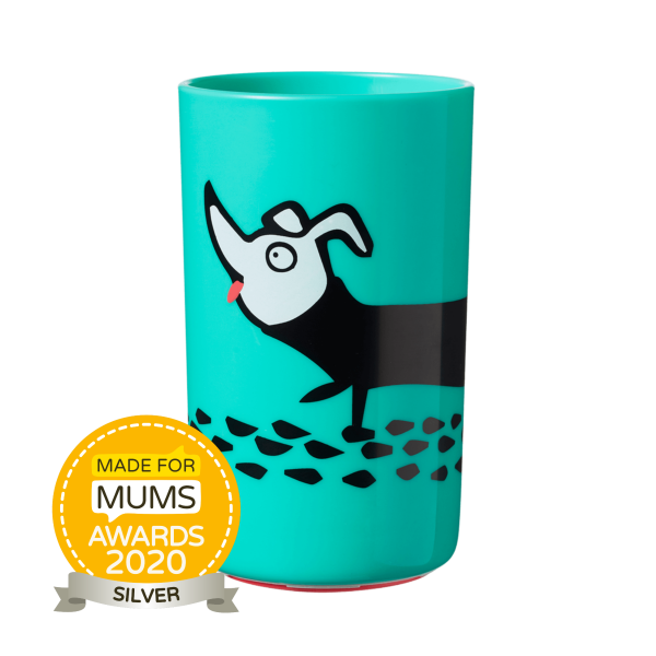 No Knock Cup 300ml, blue (18 months+)