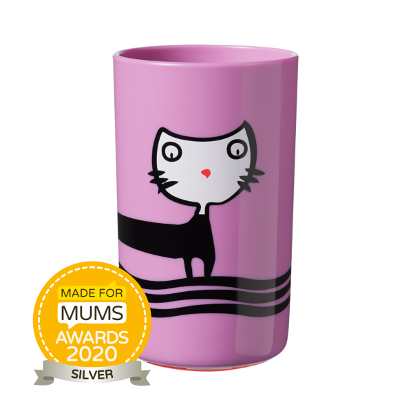 No Knock Cup 300ml, purple (18 months+)