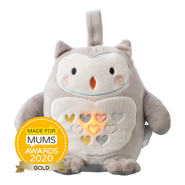 Ollie the Owl - Light and Sound Rechargeable Sleep Aid Grofriend (USB)