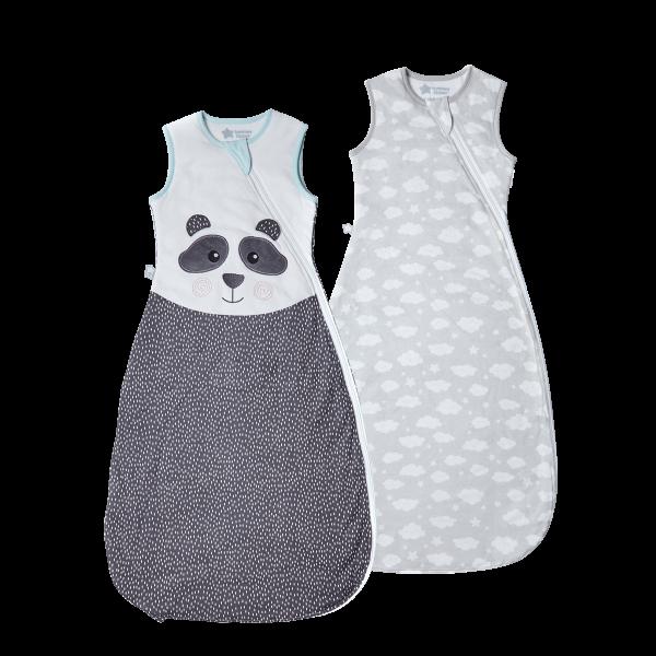 The Original Grobag Pip the Panda Sleepbag Twin Pack 6-18/18-36m