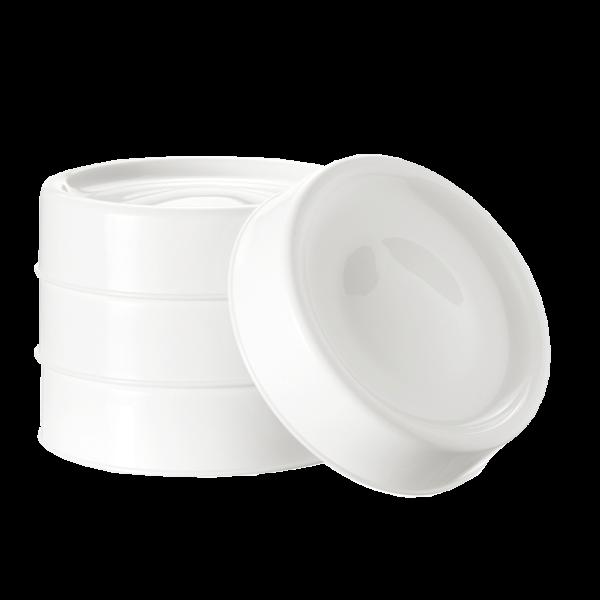 Milk Storage Lids - 4 pack