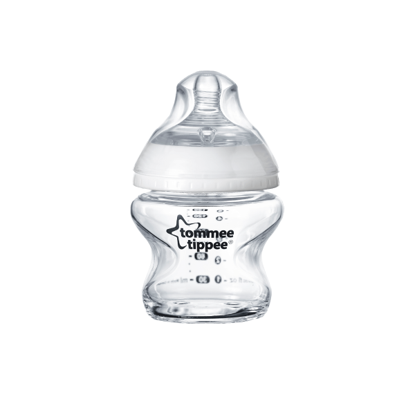 Closer to Nature Glass Baby Bottle 150ml, clear - 1 pack