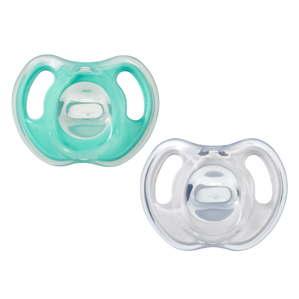 Ultra-light Silicone Soother (0-6 months) - 2 pack