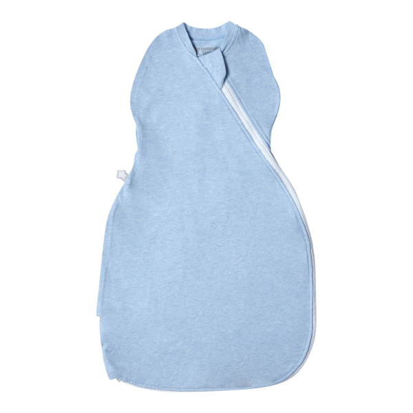 The Original Grobag Blue Marl Easy Swaddle 0-3m