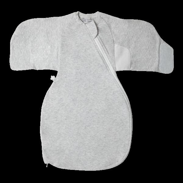 The Original Grobag  Grey Marl Swaddle Wrap 0-3m