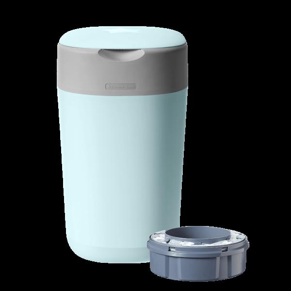 Twist & Click Nappy Disposal Bin, blue