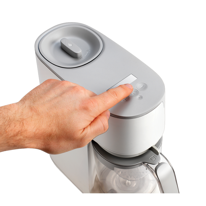 white-quick-cook-baby-food-maker-top-down-view-with-buttons