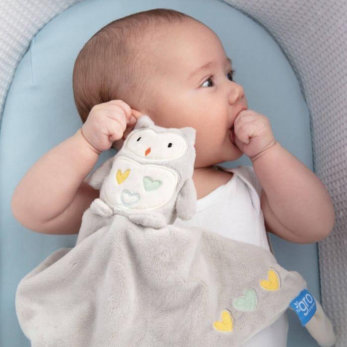 baby-in-moses-basket-cuddling-ollie-owl-gro-comforter